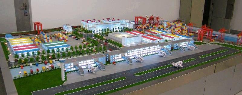 北京鑫浩宸宇注册送38彩金--滨州物流园沙盘设计制作