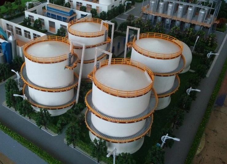 北京鑫浩宸宇模型--北京储气罐沙盘模型