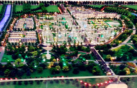 首页 规划类模型系列 >> 北京城市规划沙盘设计制作  建筑内部灯光
