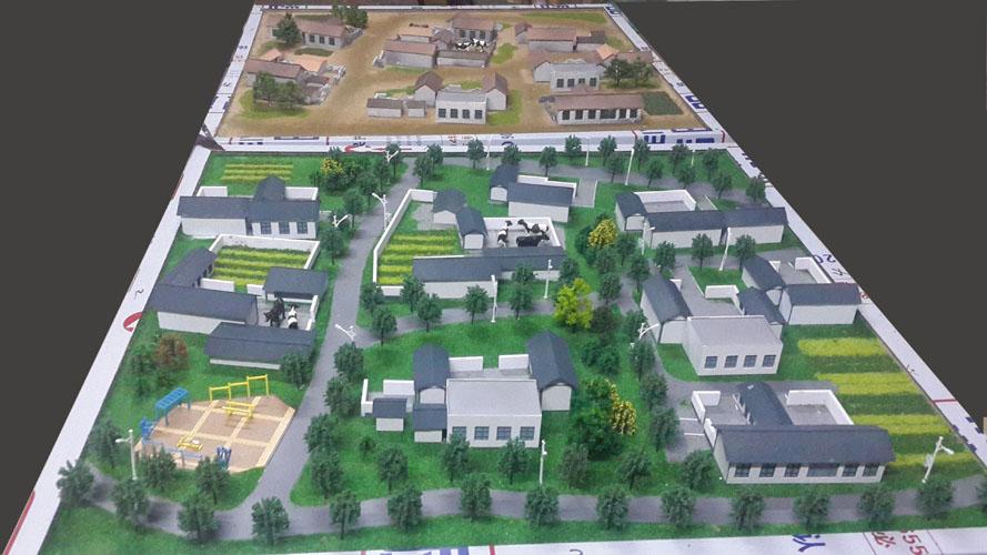北京鑫浩宸宇注册送38彩金--社会主义新农村的旧貌换新颜规划展示沙盘
