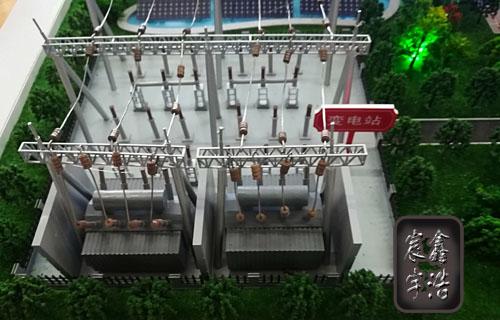 北京鑫浩宸宇注册送38彩金--变电站输配电流程演示沙盘